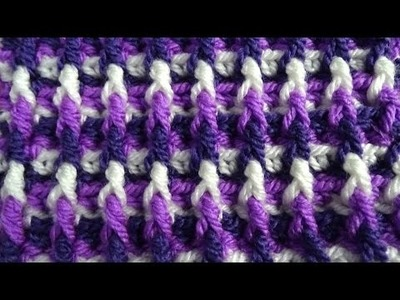 Dimension Stitch - Crochet Tutorial