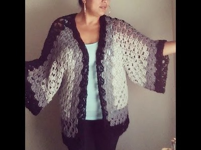 Easy crochet cardigan or sweater