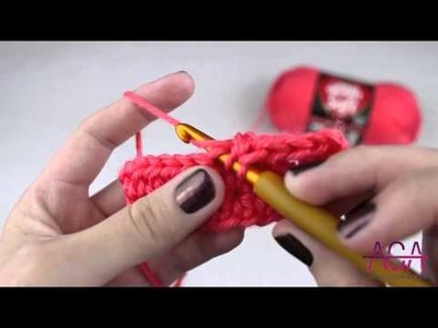 Half Double Crochet - How to make a Half Double Crochet or HDC Stitch in Crochet