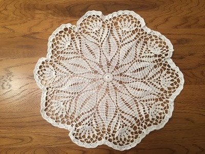 How to crochet a doily - Part 2