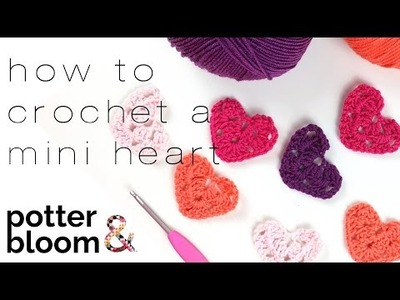 How to Crochet a Granny Heart - Quick and Easy Valentines