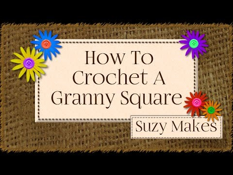How to Crochet A UK Granny Square