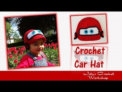 How to crochet car hat