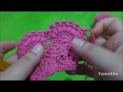 How to Crochet Dames Capelet - Cara Merajut Dames Capelet