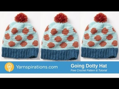 How to Crochet: Going Dotty Hat