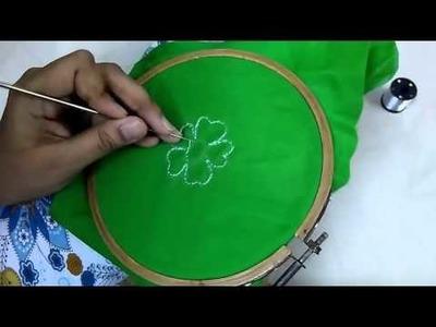 How to do Aari.Handwork ►► Chain Stitch