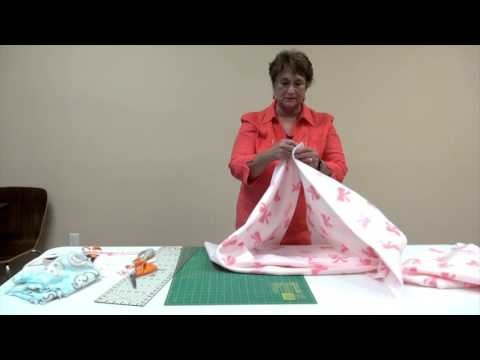 How to Make a CareNet Baby Blanket