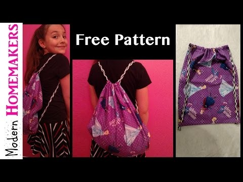 How To Make A Drawstring Bag (Part 1)
