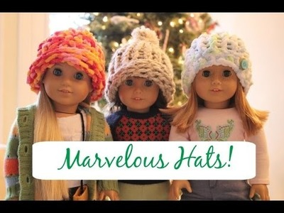 How To Make A Winter Hat For Your AG Doll