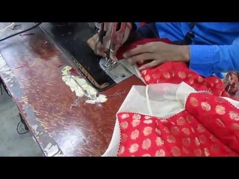 How to make Fashionable designer blouse Q part 14 hindi