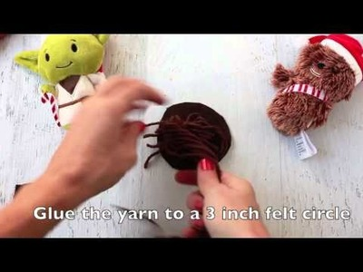 How to make Star Wars Princess Leia Hair Buns in 10 mintues