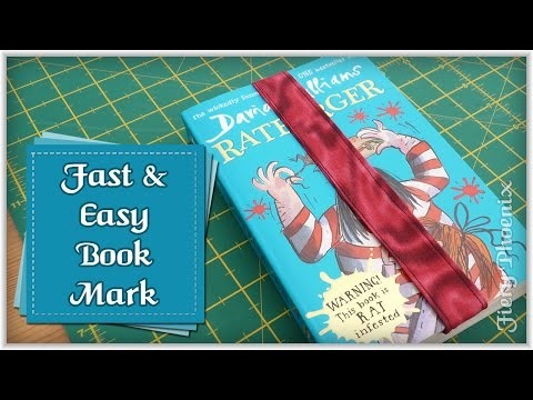 How to Sew a Bookmark :: by Babs at MyFieryPhoenix