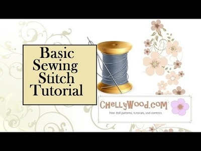 How to Sew by Hand for Beginners Using the Straight Stitch