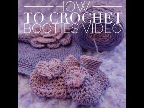 Learn How to Crochet Beginner Baby Booties