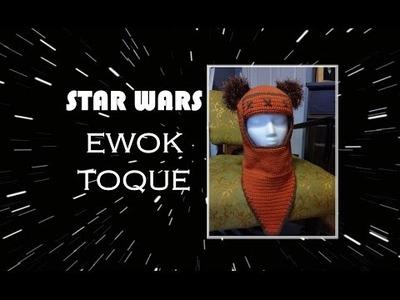 STAR WARS EWOK CROCHET TOQUE TUTORIAL