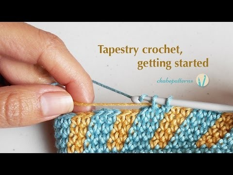 Tapestry crochet, getting started