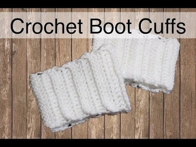The Easiest Crochet Boot Cuffs Ever   Sewrella