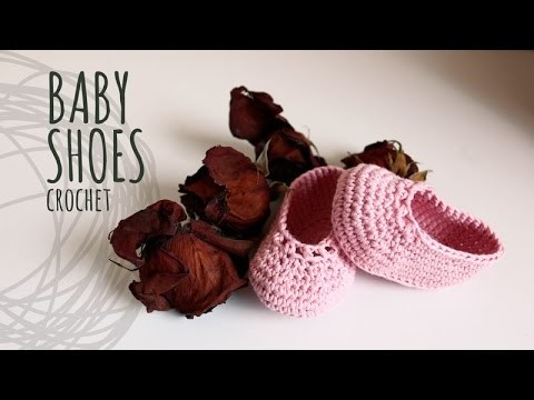 Tutorial Baby Crochet Shoes