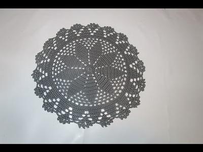 Uncinetto Crochet Centrino Medio