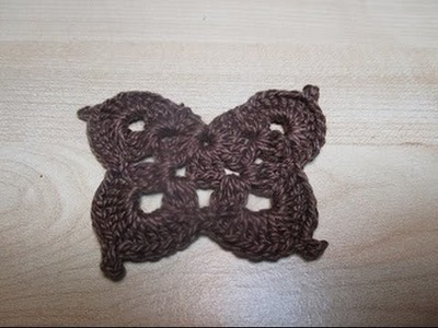 Uncinetto Crochet Farfalla Tutorial