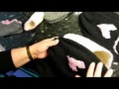Addi express How  to make slippers adult part one