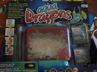 Aqua Dragons! How to grow Your own Dragon! :)