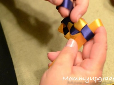 Homecoming Mums 101: How to make the military braid