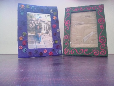 How To: Cardboard Photo Frame