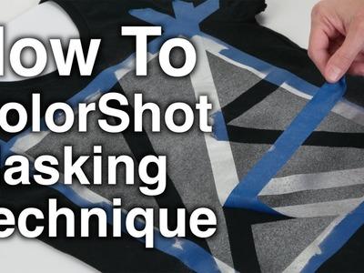 How To ColorShot Masking Technique