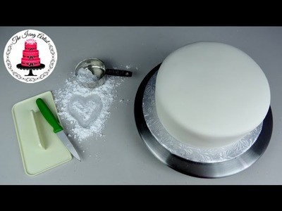 How To Cover A Cake In Fondant - With The Icing Artist
