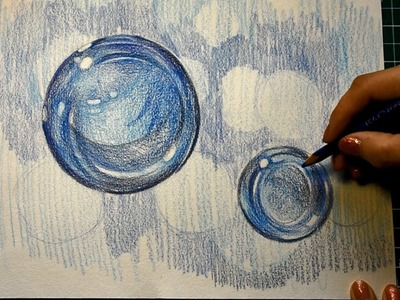 How to draw bubbles step by step