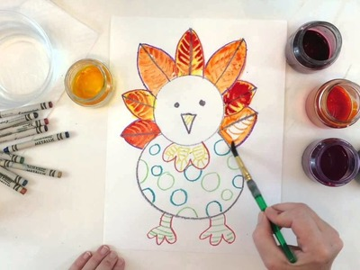 How to Draw & Paint a Turkey
