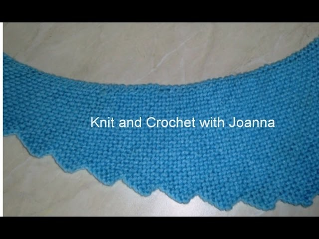 * HOW TO KNIT A DRAGON TAIL SCARF *