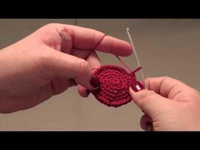 How to knit a kippah- step 4