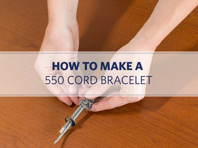 How to Make a 550 Cord Bracelet