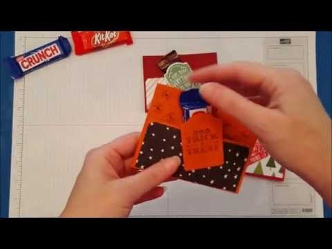 How to make a Candy.Gift Card Holder