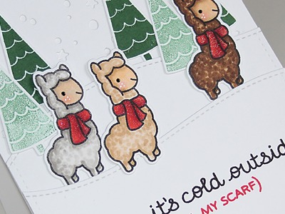 How to make a cute Winter card