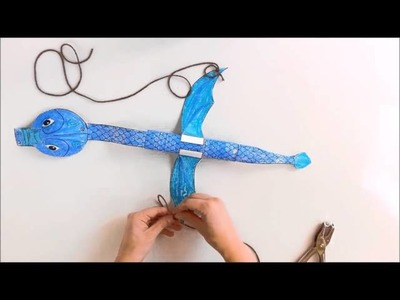 How to make a Dragon Marionette Puppet
