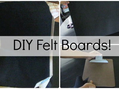 How to Make a Felt Board: 4 Easy Ideas