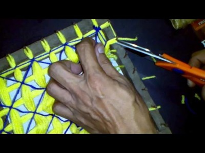 How To Make A Flower Vase Mat (D) - Making Flower Vase Mat by Edward Cardenas