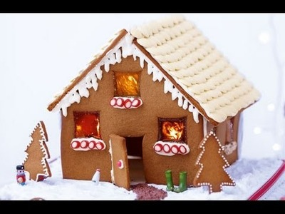 How to make a gingerbread house from scratch - Christmas gingerbread house