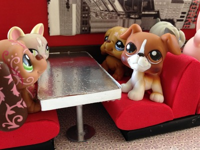 How to make a LPS Diner Restaurant