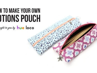 How To Make A Notions Pouch - Sewing Tutorial