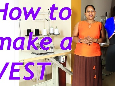 How to make a vest with invisible seam - part 1