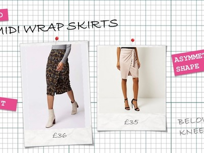 How to make an. Easy Peasy Wrap Midi Skirt