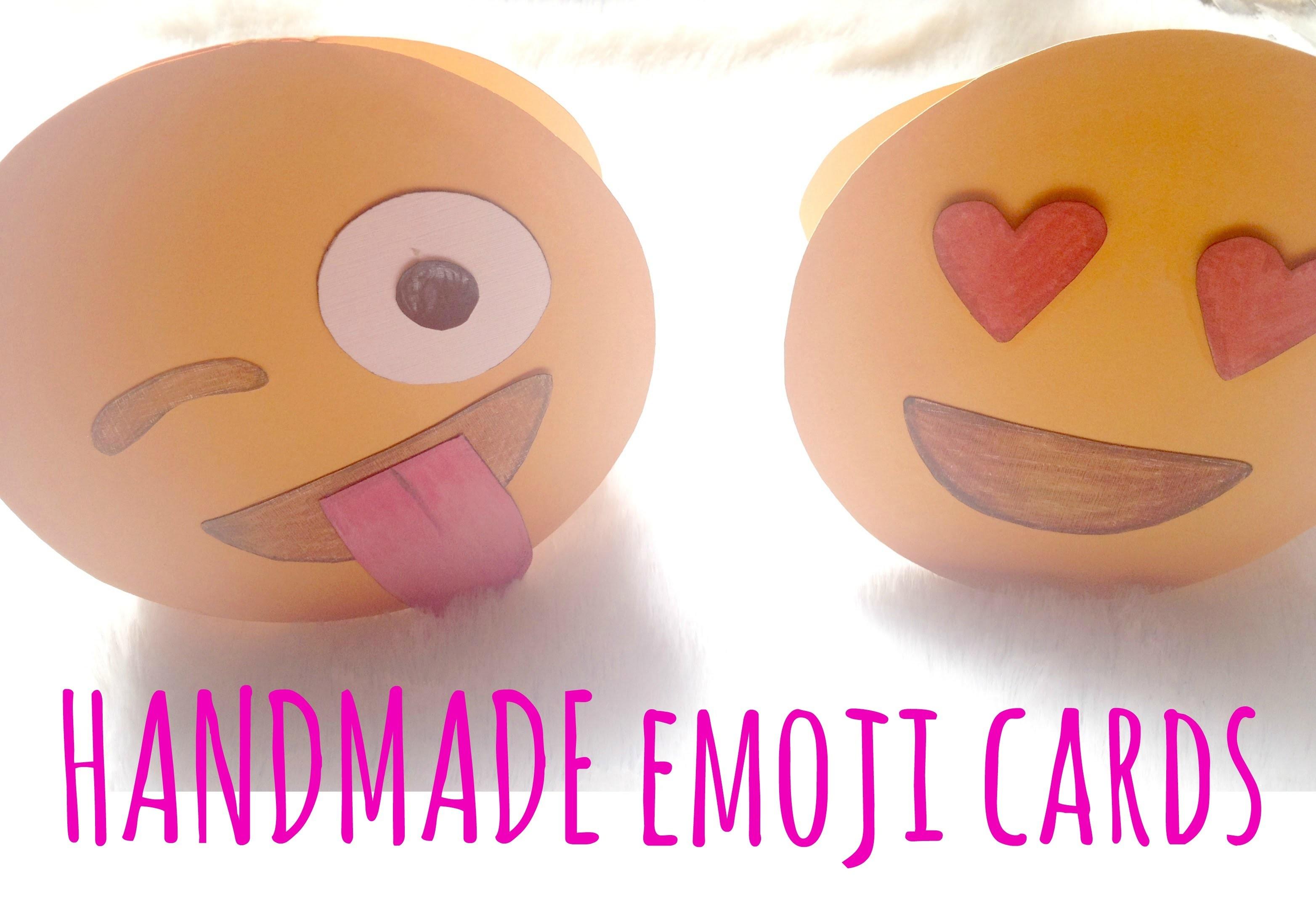 How to make an Emoji Greeting Card | Cute stuff