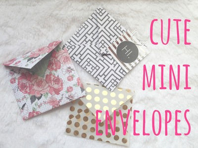 How to make an envelope | Cute stuff