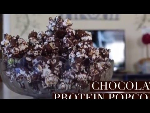 How to Make Chocolate Protein Popcorn