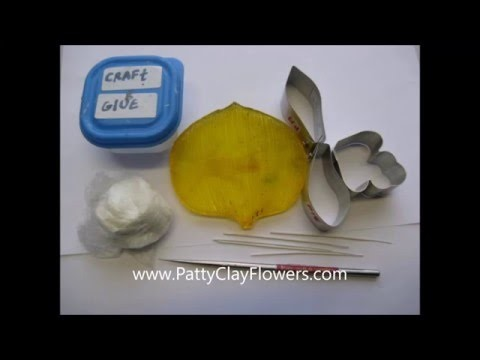How to make Clay Flower Cymbidium Orchid tutorial. Polymer Clay. Sugar Craft. Cake Decoration
