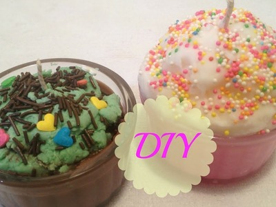 How To Make Cupcake Candles Using Crayons